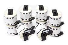 10x Rouleau Etiquettes Standard 62mm 30,48m pour Brother P-touch QL-710