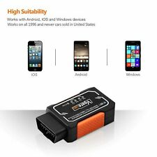 Fit For Smartphone Cell Phone Car Code Reader OBD2 OBDII Scanner TORQUE APP Tool