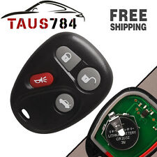 NEW KEYLESS ENTRY REMOTE CONTROL CAR KEY FOB REPLACEMENT FOR 25695954, 25695955