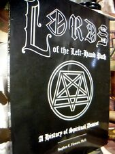 FLOWERS: LORDS OF LEFT HAND PATH ~ 2ND RUNA RAVEN SC 1997 MAGICK OCCULT **SIGNED