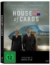 4 DVDs *  HOUSE OF CARDS - SEASON / STAFFEL 3  # NEU OVP <