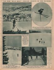 Winter Sports In The Rockies w Howelson Hills,Steamboat Springs,West Portals, CO