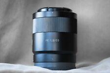 Sony Zeiss Sonnar T* FE 55mm F/1.8 ZA Lens SEL55F18Z