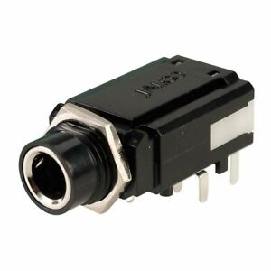 Jalco Professional Switched Stereo Jack Socket Connector JS5077 Jalco