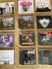 cd sammlung rap hip hop Deutschrap 12 Alben/sampler/mixtapes