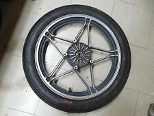 honda nighthawk front rim wheel tire cb450sc 450 550 cb550sc cb550 83 1983 1985