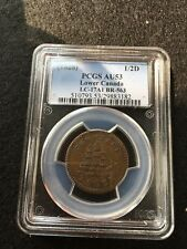 **1828**Can.Token**LC-17A1, Breton #563, PCGS Graded**AU-53** Commerce Token