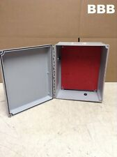 Hoffman A12106CHSCFG/SPL 12x10x6 Fiberglass Electrical Junction Box Enclosure T4