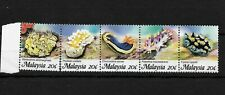 Malaysia 1988 Marine Life MNH strip ** (8173)