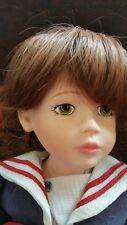 """Samantha By Robin Woods Red Head Sailor Gal doll 14"""" Vinyl Pretty Painted eyes"""