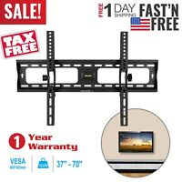 LCD LED PLASMA FLAT TILT TV WALL MOUNT BRACKET 32 37 42 46 50 55 57 60 65 70''