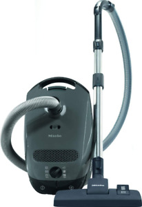 Miele Classic C1 Pure Suction PowerLine Graphite Gray Canister Vacuum Cleaner