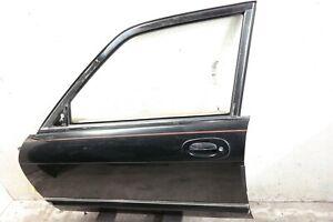 97-03 JAGUAR XJ8 X308 VANDEN PLAS FRONT DRIVER LEFT DOOR COMPLETE BLACK BEIGE