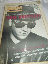 ELVIS COSTELLO - RAM -OZ MUSIC MAG -1984-#237 - MADNESS-EUROGLIDERS-CELIBATE RIF