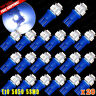 20 X Ultra Blue T10 5-SMD 5050 LED Side Wedge Light Lamp Bulbs W5W 168 194 2825