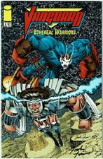 VANGUARD ETHEREAL WARRIORS #1 Signed by Frank Fosco, artist, NM, (Image, 2000)