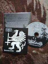 MORDBRANN/WOLFENBURG-pomeranian griffin/on the ancient path..- CD-black metal