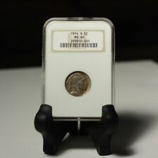 1914 Buffalo Nickel NGC MS64 ***Rev Tye's Stache*** #5001354