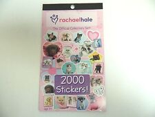 RACHAEL HALE STICKERS COLLECTORS SET - DOGS & CATS  STICKER BOOK