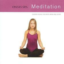 New: Various Artists: Oasis Spa: Meditation  Audio CD
