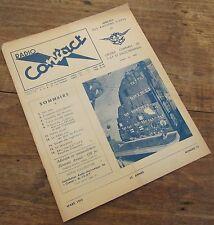 RADIO CONTACT N° 20 MARS 1953