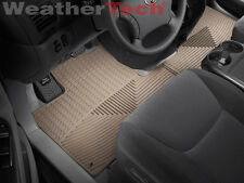 WeatherTech All-Weather Car Mats - Toyota Sienna - 2004-2010 - Tan- rows 1&2