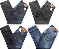 PEPE JEANS Men's Tooting Regular Fit Straight Leg Denim Blue,One Wash,Light Blue