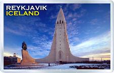 REYKJAVIK ICELAND FRIDGE MAGNET SOUVENIR NEW