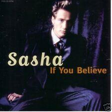 Sasha If You Believe RARE REMIXES PROMO DJ CD Single 98