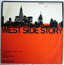 "10"" EP - WEST SIDE STORY - Adele Leigh / Peter Hudson"