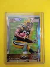 2015 Topps Chrome Ty Montgomery Green Bay Packers Rookie Card #119
