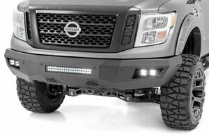Rough Country For Nissan Heavy-Duty Front LED Bumper 16-20 Titan XD