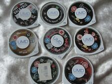 JOB Lot X 7 UMD Movies  +1 GAME For PSP * Titles Listed Below Free P&P UK