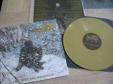 GOATMOON Voitto Tai Valhalla Gold LP VINYL Satanic Warmaster Bilskirnir Vothana