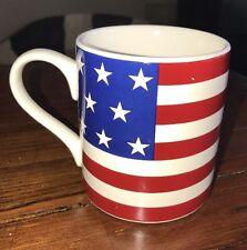 Ralph Lauren Mug Hampton Flag 4th Of July American Flag Cup
