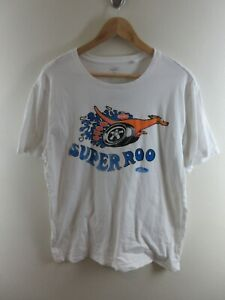 Ford Super Roo Mens T Shirt Size XL Crew Neck White Tee Official Merch Adult