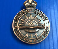 Returned From Active Service Badge AIF #badges#Activeservice#worldwars