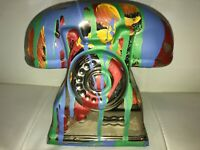 Margarita Bonke Malerei PAINTING Art Objekt Skulptur Deko Figur Telephone Phone