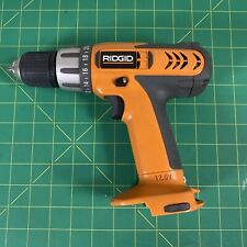 """RIDGID 12.0V Cordless Drill 3/8"""" R82001 Drill Driver BARE Tool Only TESTED WORKS"""