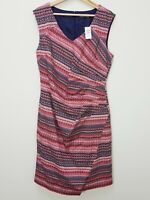 [ JACQUI.E ] Womens Patterned Dress NEW + TAGS RRP $149.95   Size AU 14 or US 10