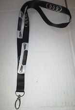 AUDI A5 A6 A7 A8 RS5 RS6 RS7 A3 Lanyard Neck Strap Key ring keyring badge logo
