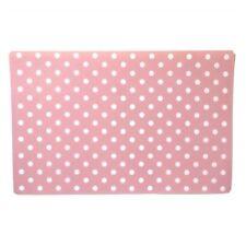 Stoneware Placemat Pink Polka Dot
