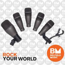 Samson Audio DK705 5 Piece Drum Mic Kit DK-705 Microphones