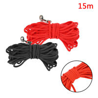 15M Dog Puppy Pet Training Tracking Lead Leash Obedience Recall Long Line