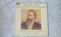 Box 4 LP Brahms Solti Chicago Orchestra - Four Symphonies / Top Zustand