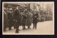 Nantwich - Visit of H.R.H. Prince of Wales (King Edward 8th) 1926 RP postcard