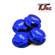 TSRC Aluminum Wheel Nut Blue 4PCS fit HPI BAJA Rovan King Motor 5B 5T 5SC