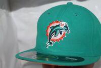 Miami Dolphins NFL New Era 59Fifty On Field Headwear NE Tech Hat,Cap       NEW