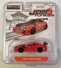 JADA TOYS JDM TUNERS 1995 TOYOTA SUPRA GLOSSY RED 1:64 SCALE 2017 WAVE 1B
