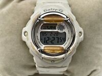 Baby-G Casio Wristwtch Ladies Digital Sport White Watch Multi Function WR 20Bars